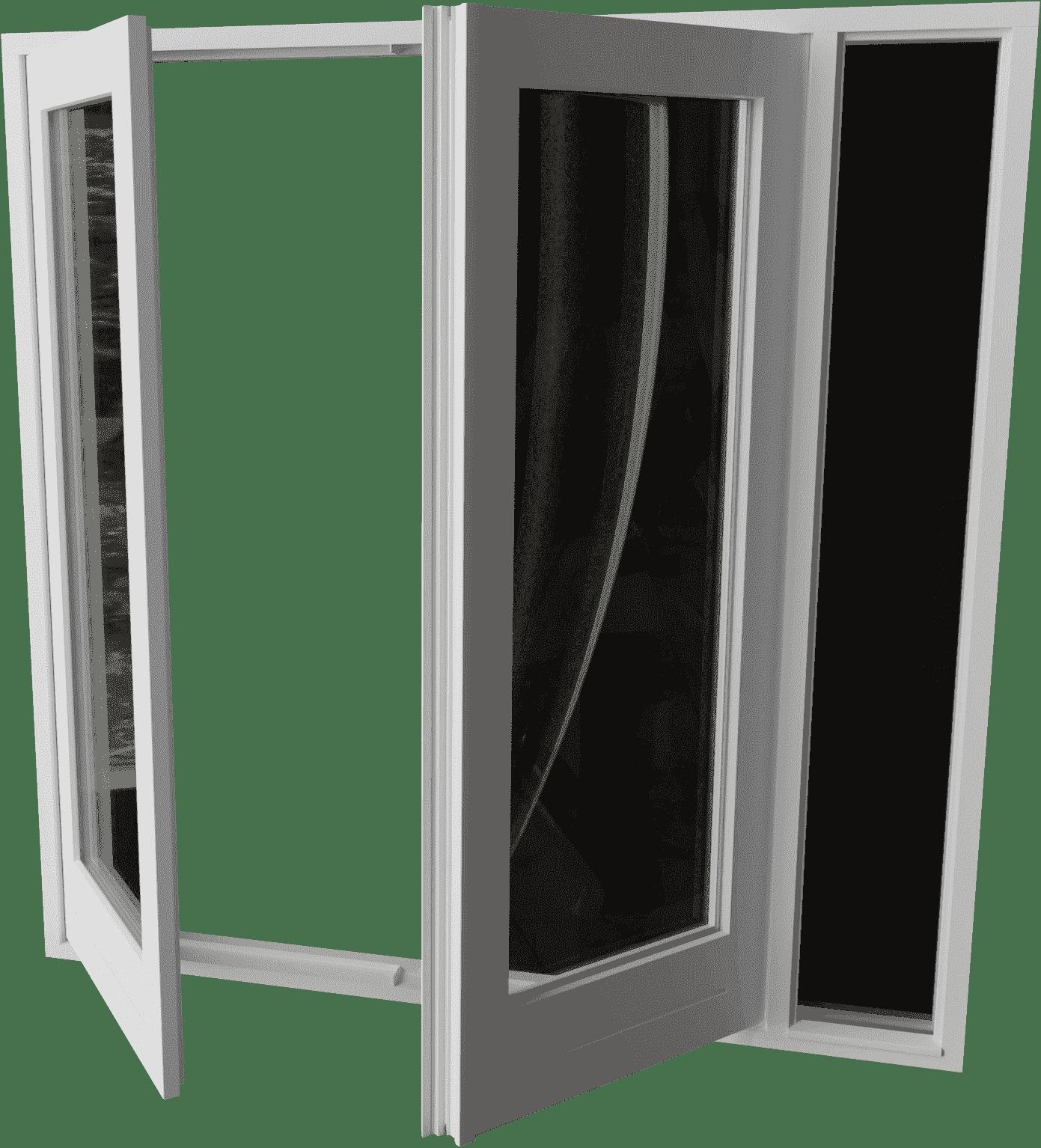 Houten Tuindeur met zijlicht rechts